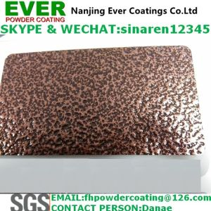 Epoxy & Polyester Antique Copper Hammer Tone Spray Powder Coating Paints Electrostatic Spray pictures & photos