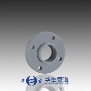 Huasheng Plastic Dn15-50 DIN Standard CPVC One-Piece Flange pictures & photos