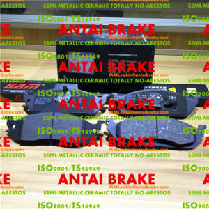 Carbon Top Quality Ceramic D760 Brake Pad for Benz