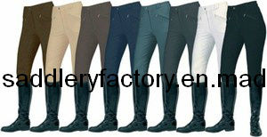 Elastic Cotton Horse Best Riding Breeches (SMB3032) pictures & photos