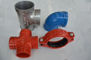 Ductile Iron Grooved Coupling and Fittings 12′′ pictures & photos