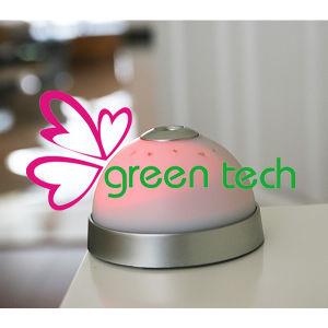 New Digital Mini Desktop LED Moon and Star Projector Digital Alarm Clock