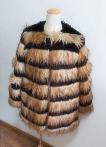 Women′s Coats Artificial Wool Clothes Es1503-F# pictures & photos