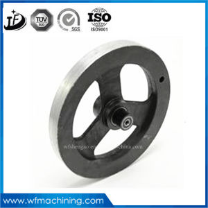 OEM CNC Machining V-Taper/Bore Belt Pulley From Machine Shop pictures & photos