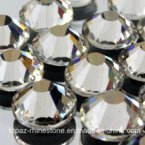Clear Crystal Foiled Flat Back Non Hot Fix Rhinestone pictures & photos