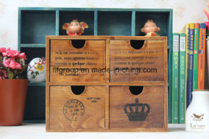 Exquisite Antique Vintage Customized Solid Wood Furniture in Custom Logos pictures & photos