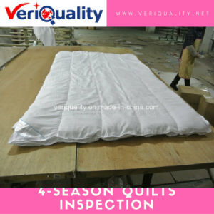 4-Season Quilts Quality Control Inspection Service at Tongxiang, Zhejiang pictures & photos