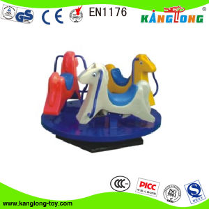 Popular PE Spring Horse Toy, Kiddie Rider for Parks (SP-001) pictures & photos