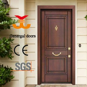 Yongkang Steel Wooden Door Armored pictures & photos