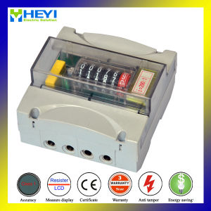 DIN Rail Watt Meter 2015 New Design Energy Meter for Single Phase Two Wire pictures & photos