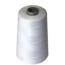 Raw White 100% Polyester Sewing Thread pictures & photos