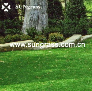 30mm Landscape Garden Artificial Grass Carpet (SUNQ-HY00067) pictures & photos