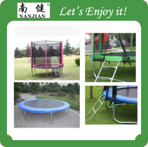 Exercise Sale Outdoor Trampoline (NJ-BIG6) pictures & photos