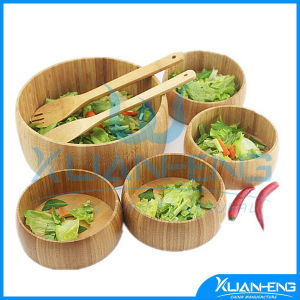 Simple Useful Bamboo Salad Bowl pictures & photos