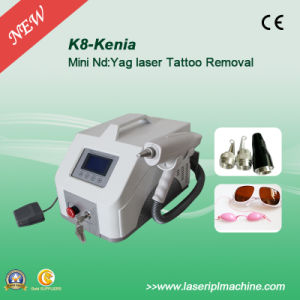 1064nm 532nm 1320nm Lase Tattoo Removal Machine Portable pictures & photos