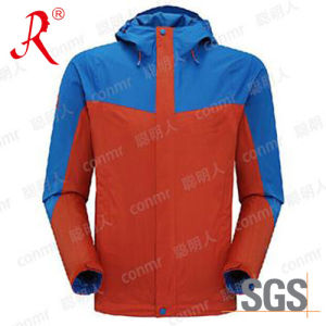 Waterproof and Breathable Ski Jacket (QF-6078) pictures & photos