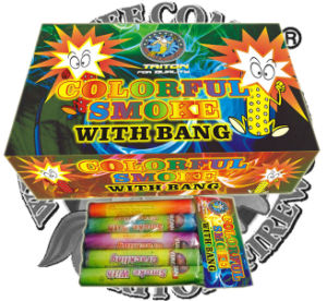 Colorful Smoke with Bang Fireworks Toy Fireworks Factory Direct Price pictures & photos