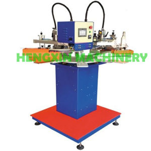 Two Color Garment Tags Screen Printing Machine (HX-1310X8)