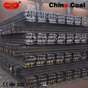 Hot Sale! 22kg Light Steel Rail with Fishplates pictures & photos