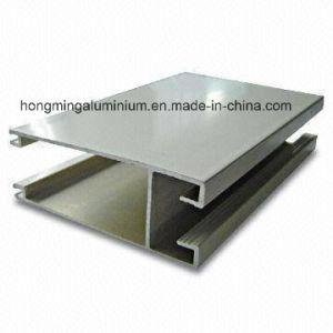 Silver Anodized Aluminum/Aluminium Profile for Windows Powder Coating, Thermal Break, Anodizing, Silver Polishing, Golden Polishing pictures & photos