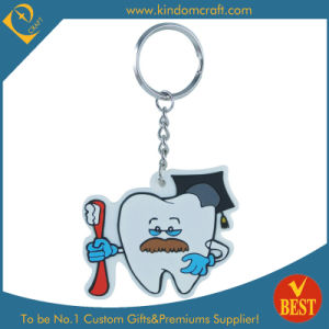 High Quality Lovely Cartoon Shape Fashion Customized PVC Key Chain From China pictures & photos