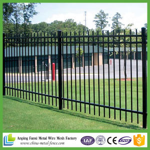 Powder Coated Residential Ornamental Cast Iron Fence pictures & photos