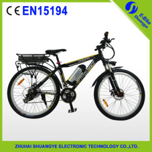 Popular Lithium Battery Electric Mountain Bike pictures & photos