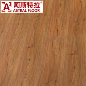 AC3 HDF Embossed Wave Embossed Laminated Flooring (AB9960) pictures & photos