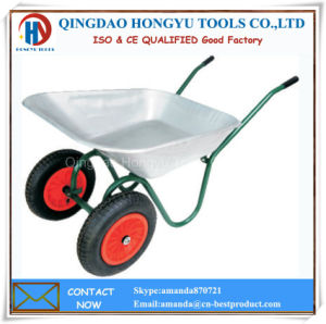 China Supplier Metal Tray Wheelbarrows pictures & photos