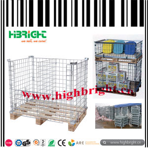 Wire Mesh Pallet for Warehouse Storage pictures & photos