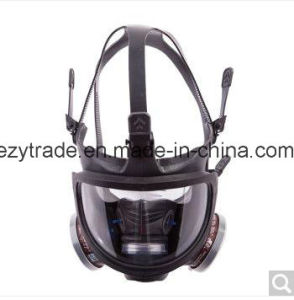 Full Face Gas Mask Facepiece Respirator with Ce- pictures & photos