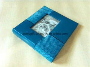 Custom Quality PU Leather Photo Album pictures & photos