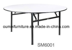 Round Restaurant Banquet Table (SM6001)