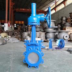 Bevel Gear Knife Gate Valve (YCPZ573) pictures & photos