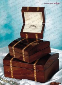 Wooden Jewelry Box (JW-25)