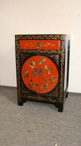 Antique Furniture Painted Cabinet (W-72)