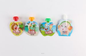 Customized Baby Food Spout Pouch Juice Beverage Bag Food Grade Food Pouch Shaped Bag pictures & photos