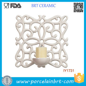 Classical Beauty Wall Decoration Candle Holder Ceramic Home Decor pictures & photos
