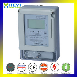 Single Phase Prepaid Energy Meter with Soft Ware Free pictures & photos