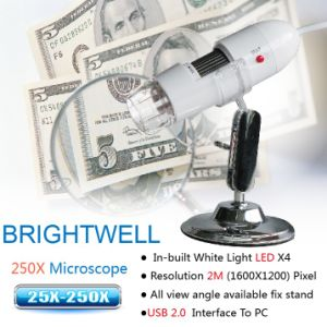 FCC and CE Approved Protable Microscope (BW788)