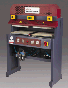 Hot Melt Cloth Stitching Machine pictures & photos