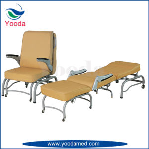 Medical Foldable Attendant Chair for Hospital or Office pictures & photos