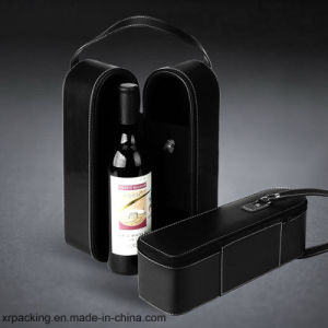 PU Leather Wine Box for Export and OEM Order