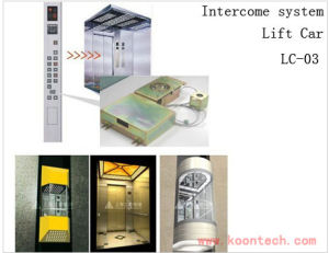 Intercom System Lift Car for Elevator Emergency Telephone pictures & photos
