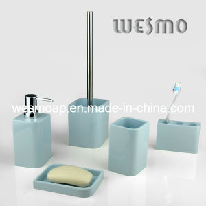 Rubber Oil Painting Polyresin Bathroom Accessory (WBP0314B) pictures & photos