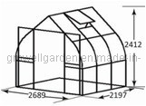 A9 Series Greenhouse for Plants and Flowers (A907) pictures & photos