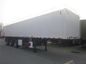 3 Axles Van Type Box Cargo Trailer pictures & photos