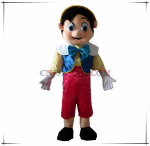 Funny Pinocchio Mascot Cartoon Character Costume Fairy Tale Character