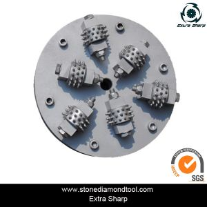 Diamond Stone Concrete Floor Bush Hammer Roller for Surface Fabricating pictures & photos