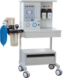 2016 New 2 Vaporizers Anesthesia Machine with Ventilator pictures & photos